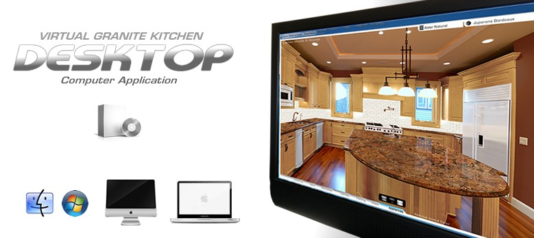 VIRTUAL KITCHEN GRANITE COUNTERTOPS CREATOR VISUALIZE ...